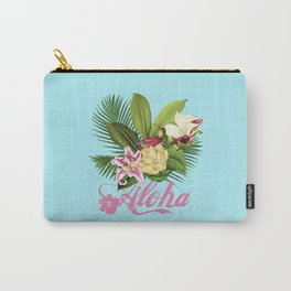 Hawaii Style Tropical Art Carry-All Pouch