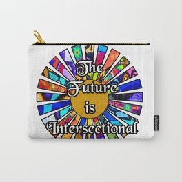 The Future is Intersectional Graffiti Sunrays Carry-All Pouch