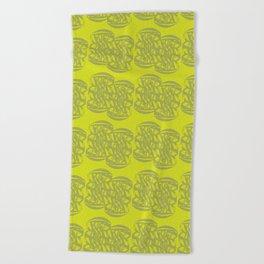 Interwoven #1 Beach Towel