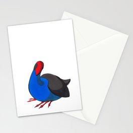 Kooky Pukeko 2/4 Stationery Cards