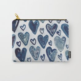 Hearts aplenty. Carry-All Pouch