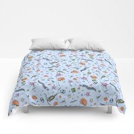 Cute Biology Comforters