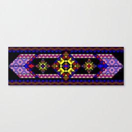 Black Tapestry Canvas Print
