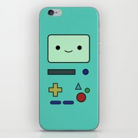 bmo iPhone & iPod Skins featuring BMO by Expired Kimchi