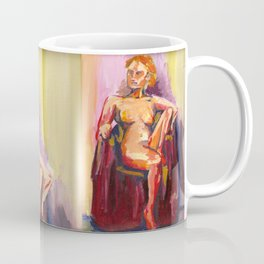 Sitting Lady Coffee Mug