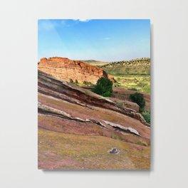 Red Rocks Colorado Landscape Metal Print
