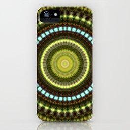 Celestial Cymatics iPhone Case
