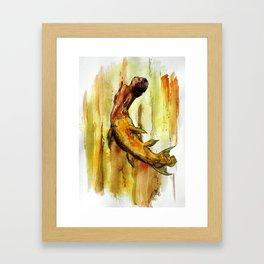 Mer-acanth Framed Art Print
