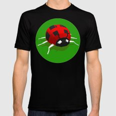 LADYBUG MEDIUM Mens Fitted Tee Black