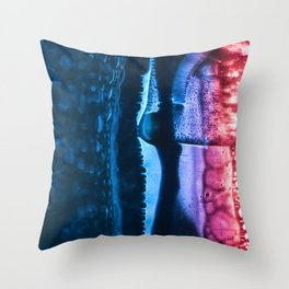 Cyberbubbles 001 Throw Pillow