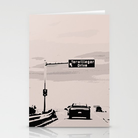 Terwillegar Drive Stationery Cards