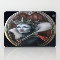 evil queen iPad Cases featuring Evil Queen by Yehsiming Jue