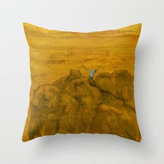 The Lord of the Mountains Throw Pillow