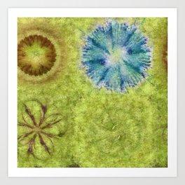 Empurples Mental Picture Flower  ID:16165-094016-44020 Art Print