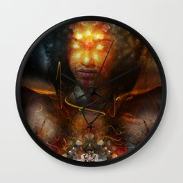 Eyes Of The Beholder Wall Clock