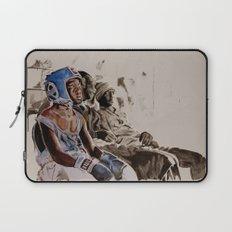 BRONX BOXING BOYS - sepia/blue version Laptop Sleeve