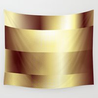 copper Wall Tapestries featuring Copper Pattern by Robin Curtiss