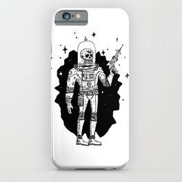 Intergalactic Bone Man iPhone Case
