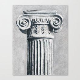 Ionic Column Canvas Print
