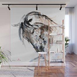 Horse (Gale II) Wall Mural