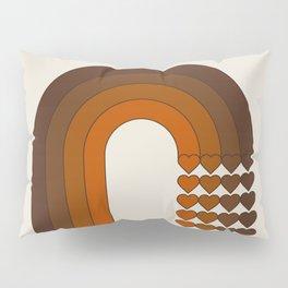 Cocoa Sweetheart Rainbow Pillow Sham