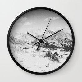 ROCKY MOUNTAINS / Colorado Wall Clock