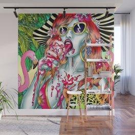 Siesta Wall Mural
