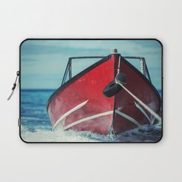 Boat in Tow Laptop Sleeve