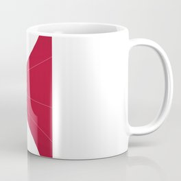 Silhouette Racers - Mazda MX5 in Red Coffee Mug