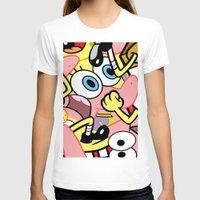 spongebob T-shirts featuring Spongebob by Startled Artist