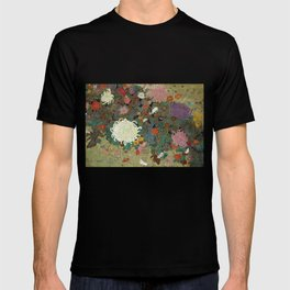 flower【Japanese painting】 T-shirt