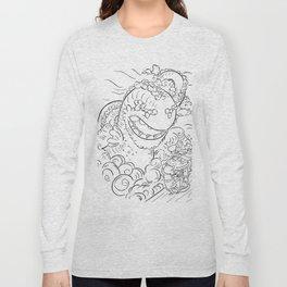 Sea Serpent - ink Long Sleeve T-shirt