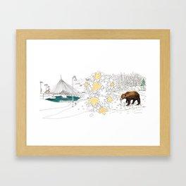 'CANADA' PART 6 OF 10* Framed Art Print