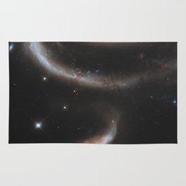Pair of Galaxies Rug