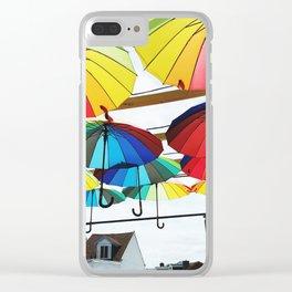 Rain or Shine Clear iPhone Case
