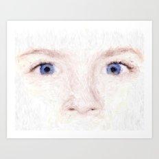 child eyes Art Print