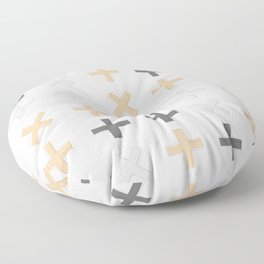 Positive Vibes - Pink Floor Pillow