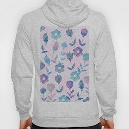 Watercolor Floral Hoody