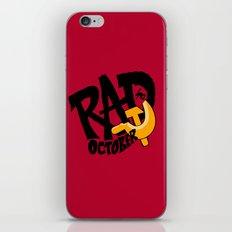 Rad October iPhone & iPod Skin