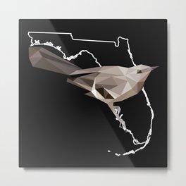 Florida – Northern Mockingbird Metal Print