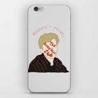 the breakfast club iPhone & iPod Skins featuring The Breakfast Club - Brian by Swell Dame