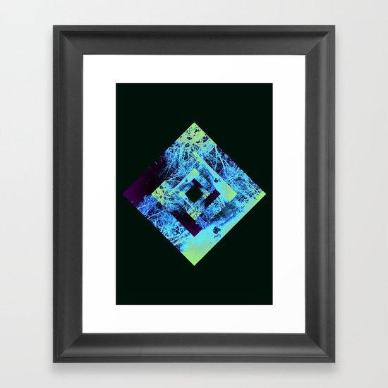 Diamond Design Framed Art Print