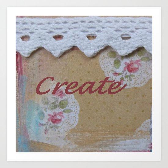 Create #2 Art Print