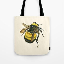 Vintage Scientific Bee Tote Bag