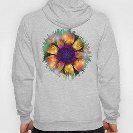 Artistic magical fantasy flower Hoody