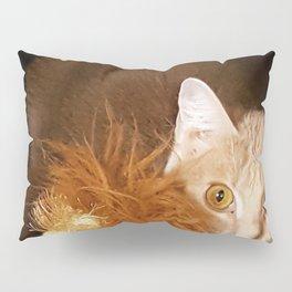 Kitty Cat in a Box Pillow Sham