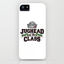 Jughead of the Class iPhone Case