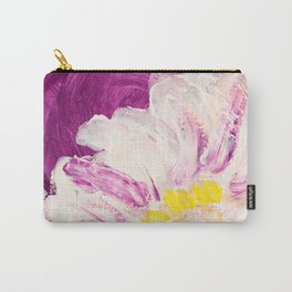 Peony and Purple Carry-All Pouch