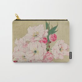 Fukurokuju - God of Longevity Cherry Blossoms Carry-All Pouch
