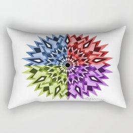 Enochi coloured mandala Rectangular Pillow
